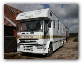 horse riding facilities - horse transport